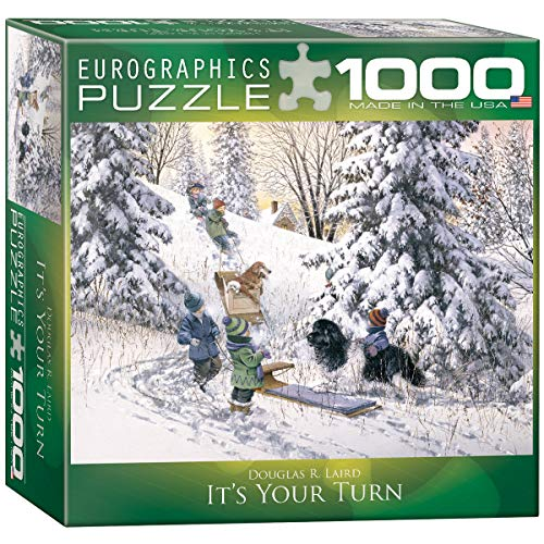 EuroGraphics - Rompecabezas, 1000 Piezas (EG80000613)