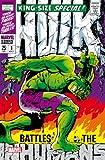 Semic Distribution MSS001G - Lámina de Metal (tamaño Gigante), diseño de Hulk...
