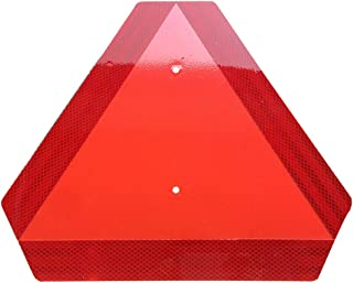 Slow Moving Vehicle Sign,Gules Triangle Slow Moving Sign,Large SMV Sign 14