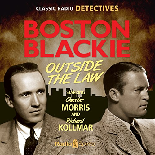 Boston Blackie audiobook cover art