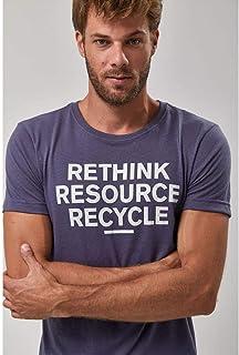 Camiseta Eco Recycle - Indigo