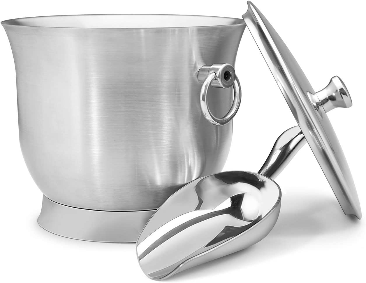 Fortune Candy Insulated Ice Bucket Max 44% Finally popular brand OFF - Ste Walled Double Stainless