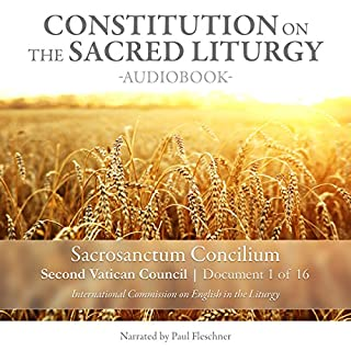 Constitution on the Sacred Liturgy (Sacrosanctum Concilium), Document 1 of 16 Documents from the Second Vatican Council audiobook cover art