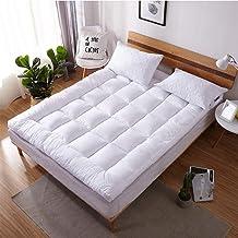 Japanese Floor Mattress Futon Mattress, Thicken Tatami Mat Sleeping Pad Foldable Roll Up Mattress Boys Girls Dormitory Mat...