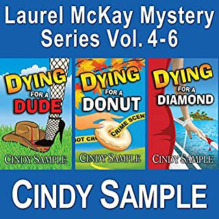 Laurel McKay Mysteries Series Box Set, Books 4-6 audiobook cover art