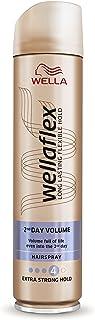 Wella Wellaflex 2nd Day Volume Hairspray Extra Strong Hold - 250 ml