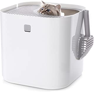 Modkat Litter Box, Top-Entry, Includes Scoop and Reusable Liner