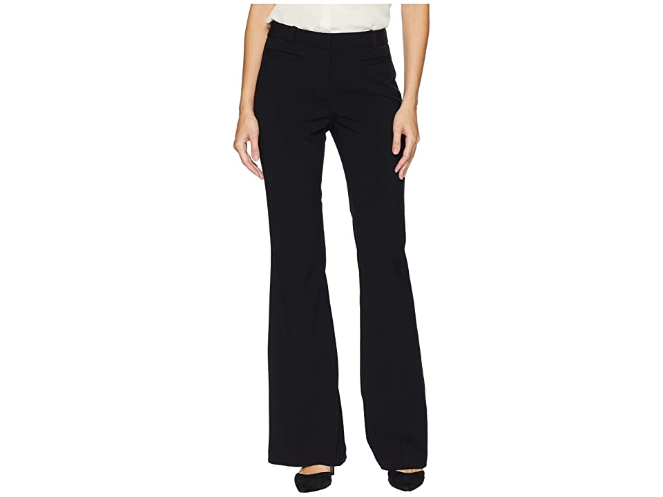 MICHAEL Michael Kors Skinny Flare Pants (Black) Women