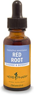 Herb Pharm Red Root Liquid Extract for Cleansing and Detoxifying - 1 Ounce (DRROOT01)