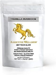 Addictive Wellness Tremella Mushroom Extract Powder Wood Grown Pure & Potent