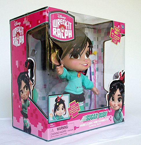 Disney Wreck-It Ralph Vanellope Von Schweetz Talking Doll - 12'' H by Disney