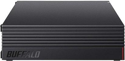 [Amazon.co.jp限定] Buffaro 外接硬盘 8TB 电视录像/PC/PS4/4K对应 静音&紧凑 日本制造 故障预测 密亚集图 HD-AD8U3