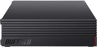 【Amazon.co.jp 限定】BUFFALO 外付けハードディスク 6TB テレビ録画/PC/PS4/4K対応 静音&コンパクト 日本製 故障予測 みまもり合図 HD-AD6U3