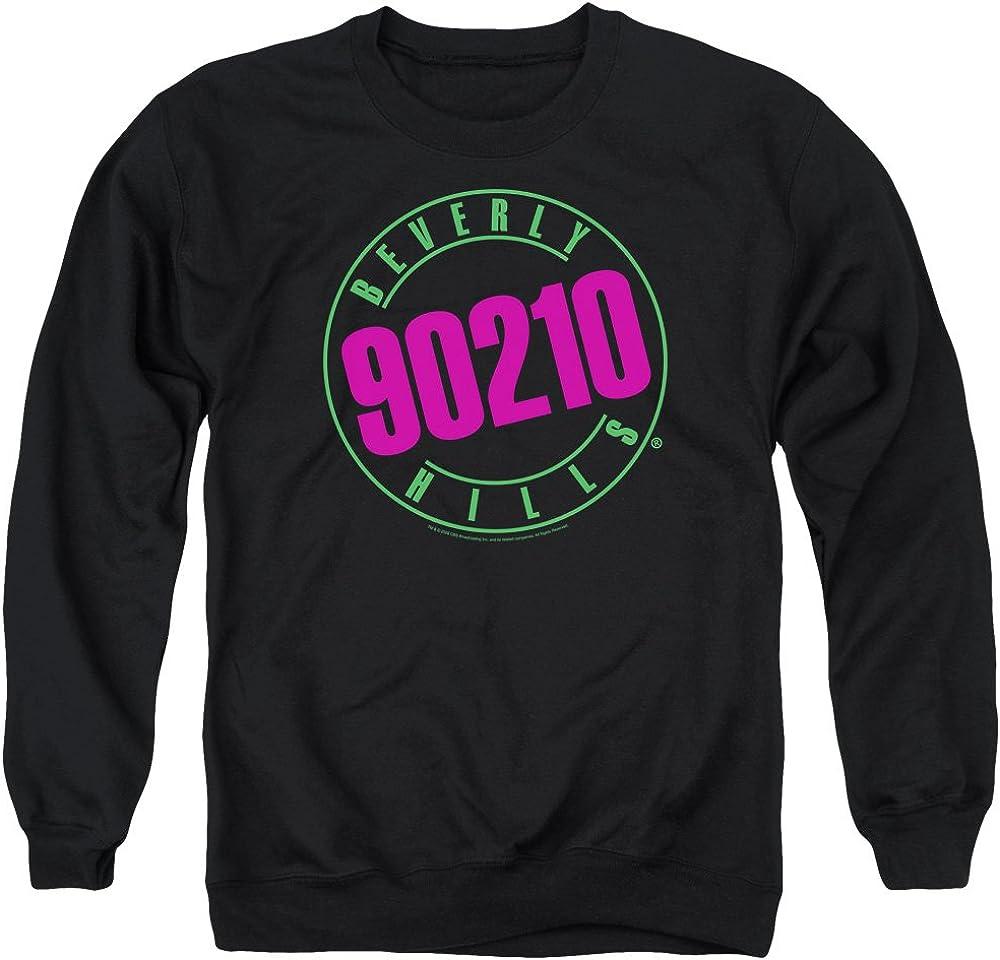 AE Designs Beverly Hills メーカー直送 90210 Pullo 予約販売品 Sweatshirt Logo Black Neon