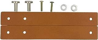 2 Pcs Leather Cabinet Wardrobe Door Handles Drawer Pull Knob,Shoe Pull Knob Handle Light Brown