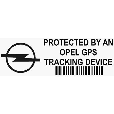 Platinum Place 5 X Ppopelgpsblk Fensteraufkleber Gps Tracking Device Security Fensteraufkleber 87 X 30 Mm Auto Alarm Tracker Auto