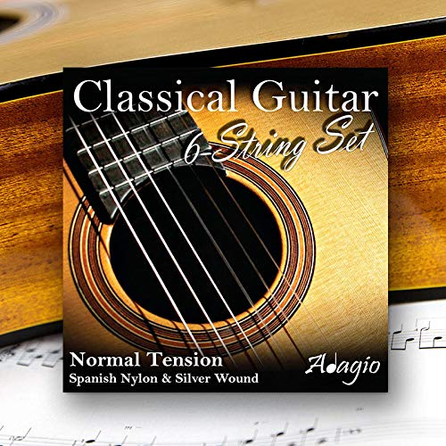 Adagio Pro CLASSICAL Guitar Strings - Normal Tension Nylon - Full Pack/Set
