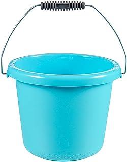 CURVER | Seau 5L anse Argent, Turquoise, 24 x 24 x 19,5 cm, Plastique