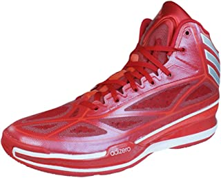 adizero basketball shoes red