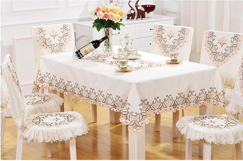 GBBD Tischdecken Europische Stil Tischdecke Stoff Umfaten Stoff Couchtisch Stoff Pastoral Tischdecke Spitze Tischfahne Tischdecke Abdeckungen Tischtuch (gre   6 )