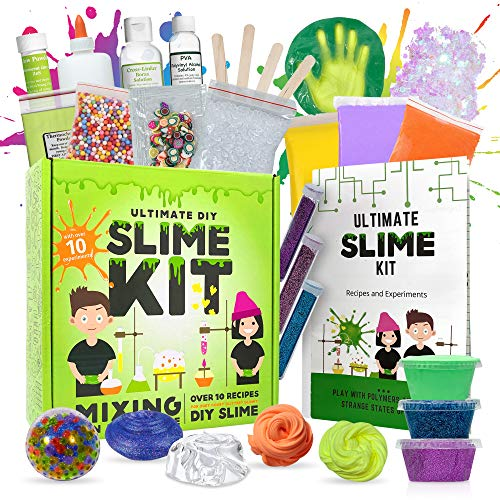 Baby Mushroom Ultimate Slime Kit - 10 Slimy Science...