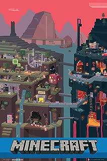 Empire - Póster de Juego Minecraft