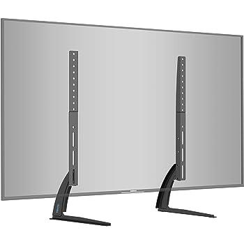 BONTEC Soporte TV de Pie Peanas para TV Patas TV 22-65 Pulgadas LED/LCD/ Plasma/Curva/Plana, Soporte Pie Televisores Carga Máx. 50 kg: Amazon.es: Electrónica