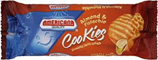 Americana Nutty Almond & Pistachio Butter Cookies, 90 gm