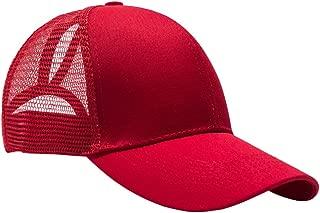 Baoblaze Unisex Summer Fashion Mesh Ponytail Baseball Cap Hats Messy Bun Snapback Gifts