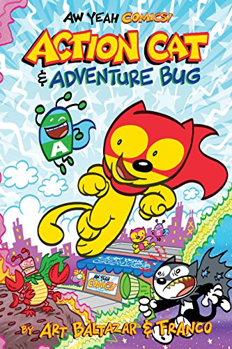 Aw Yeah Comics: Action Cat & Adventure Bug (English Edition)