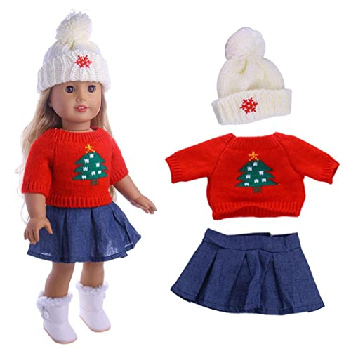 HUHU833 Cute Sweaters Clothes Outfits Skirt For 18 inch Fashion American  Girl Doll-- Not 1d817c57a