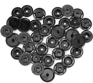 ByaHoGa 15mm 50pcs Botones de madera natural para costura de ni/ños