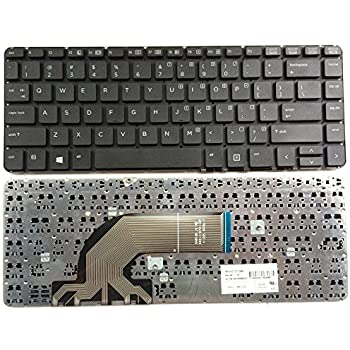 Laptop Keyboard Compatible for HP PN AEY14U00210 MP-14A53US-9201 757410-001 AEY14U00010 763577-001 763733-001 US Layout Black Color No Frame