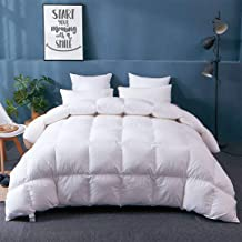 APSMILE Fusion Hungarian Goose Down Comforter Queen/Lightweight White