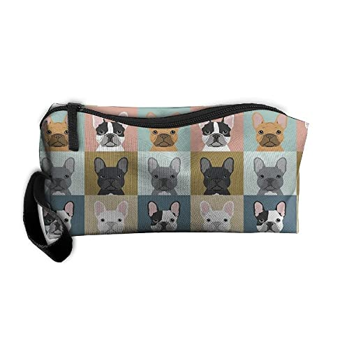 2ea02d52f9f3 French Bulldog Dog Cute Multifunction Portable Make-up Mini Bag Makeup Bag  Sewing Kit Medicine