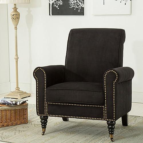 Black Accent Chairs Amazoncom