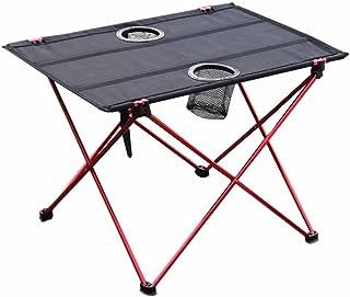 Mesa plegable de picnic para camping, portátil, compacta,