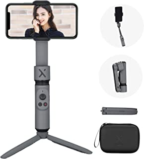 ZHIYUN Smooth X Gimbal Stabilizer, Foldable Selfie Stick for Smartphone, Extendable Handheld iPhone Android Gimbal, YouTub...