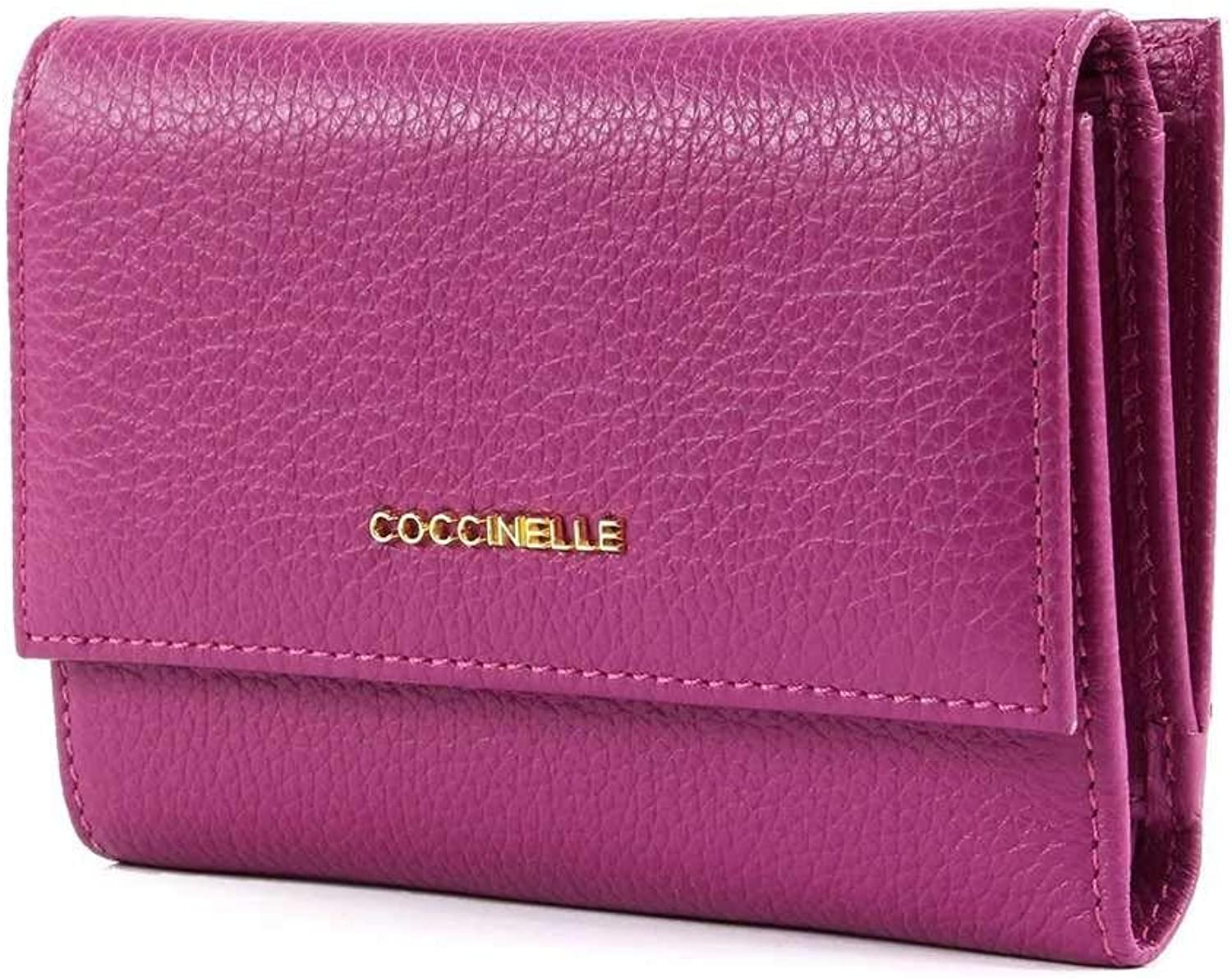 COCCINELLE Wallet METALLIC SOFT Female Leather purple  E2DW5116601V02