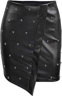 new york c5286 c2d7a Amazon.it: Ecopelle - Gonne / Donna: Abbigliamento