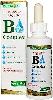 Nature's Bounty Vitamin B Complex Sublingual Liquid 2 oz ( Pack of 6)