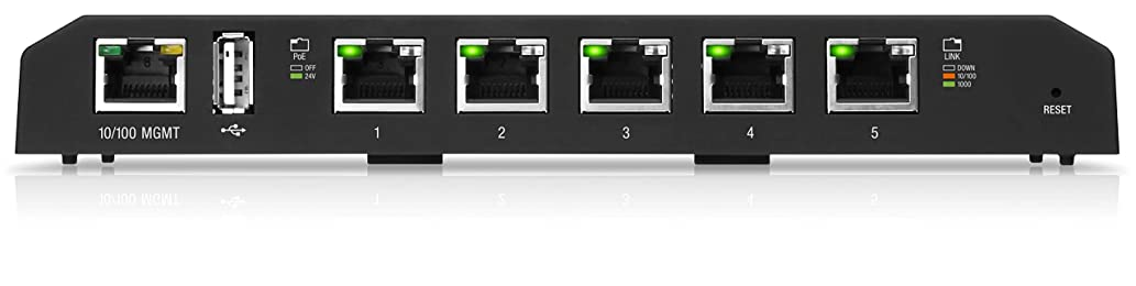 【Amazon.co.jp 限定】Ubiquiti Networks Advanced Power over Ethernet Switches [Amazon限定品] ES-5XP-A