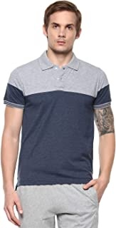 AMERICAN CREW Men's Polo T-Shirt Colorblock Tee
