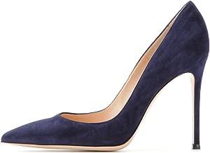 EDEFS Zapatos de Tacón para Mujer,Zapatos de tacón Alto 10 CM