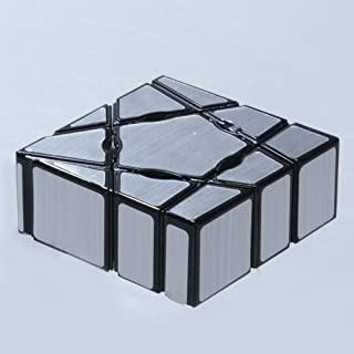 Starabu 1 x 1 Heteromorphosis Speed Puzzle Cube Intellectual Development Smart Cube Toy Silver