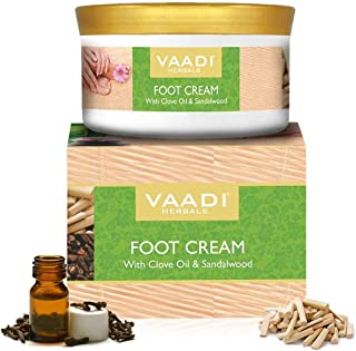Vaadi Herbals Foot Cream, Clove And Sandal Oil, 150G