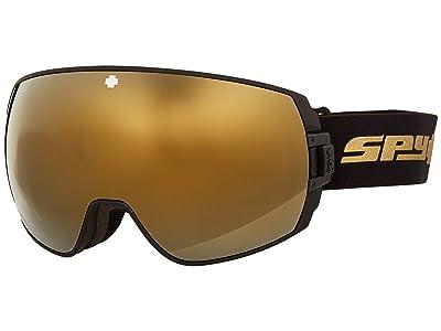 Spy Optic Legacy (25Th Anniv Black Gold Hd Plus Bronze w/ Gold Spectra Mirror +) Snow Goggles