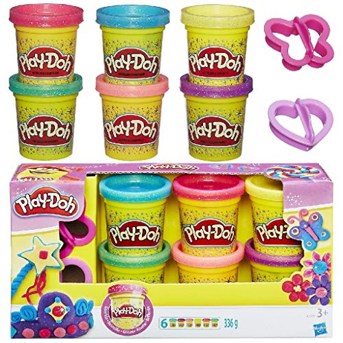 Hasbro Play-Doh A5417 - Glitzerknete