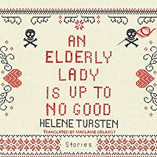 An Elderly Lady Is Up to No Good audiobook cover art