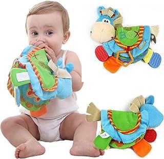 PanDaDa Livre en Tissu Livre D'éveil Multifonction Jouet Educatif Cadeau Anniversaire Fête Nouvel an pour Bambin Bébé de 0...